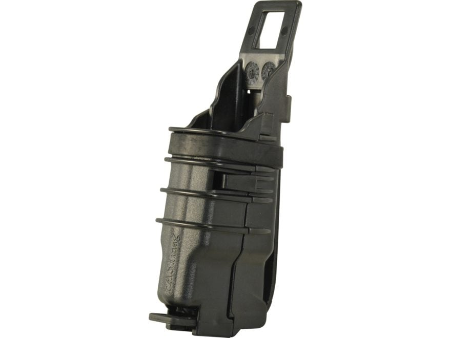 ITW FastMag Pistol Gen IV Single Magazine Pouch Pistol MOLLE Compatible Polymer Black