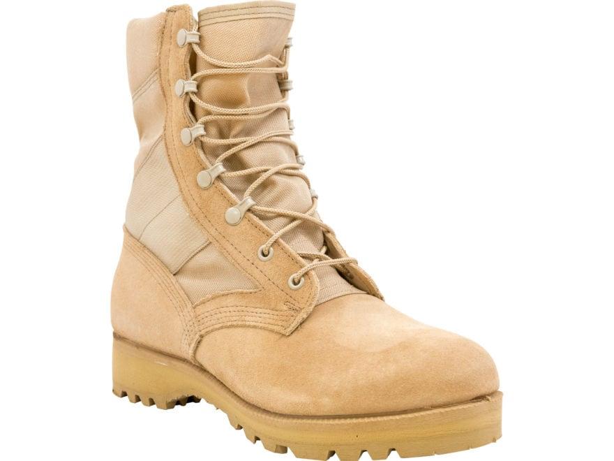 Military Surplus Warm Weather Combat Boot Tan