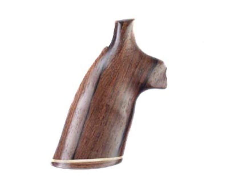 Hogue Fancy Hardwood Grips with Accent Stripe Colt Anaconda, King Cobra