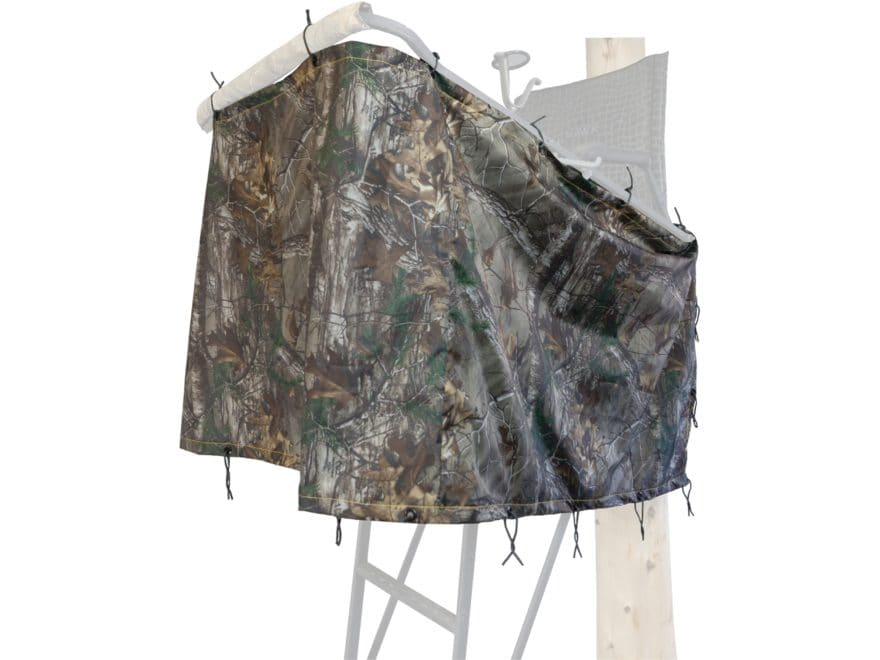 Hawk EZ Conceal Universal Blind Kit Polyester Realtree Xtra