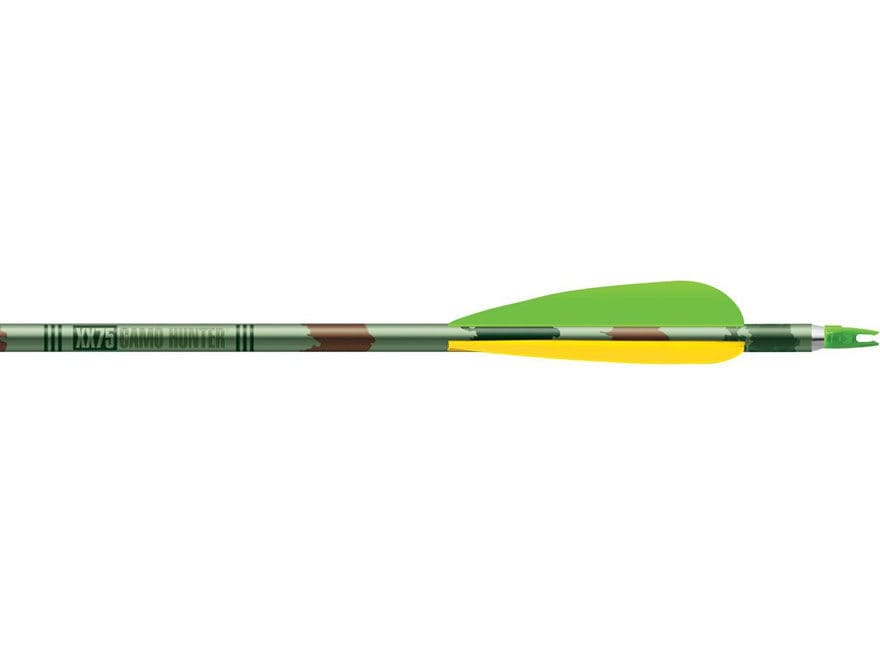 "Easton Camo Hunter Alloy Arrow 4"" Vanes"