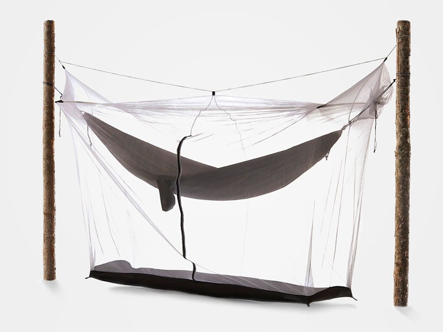 Grand Trunk Mozzy Hammock Mosquito Net Nylon White