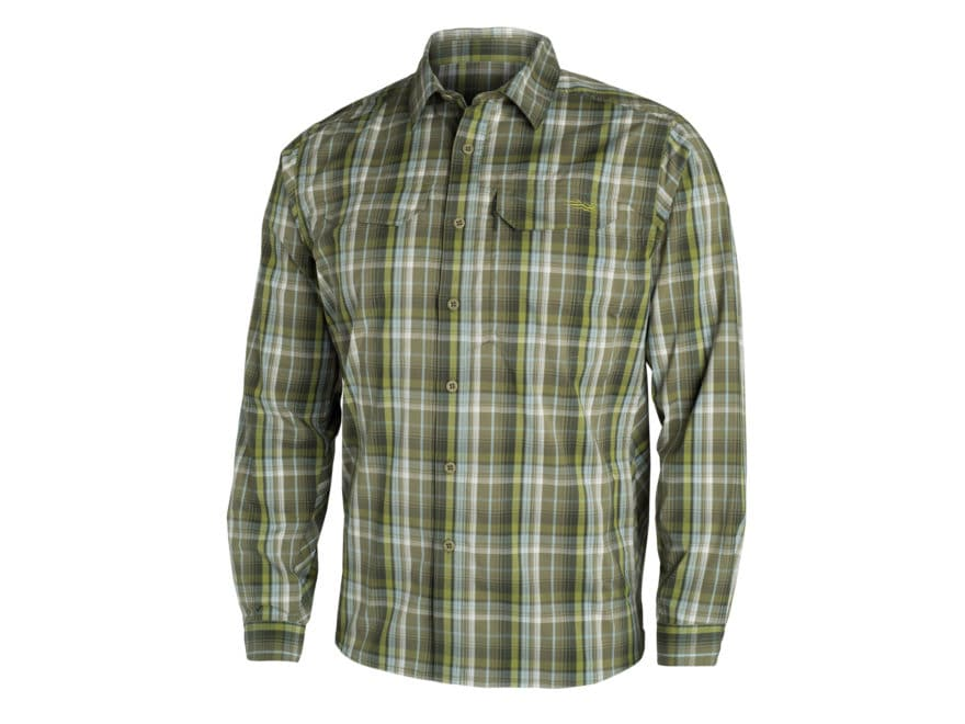 Sitka Gear Men's Globetrotter Shirt Long Sleeve Cotton/Polyester