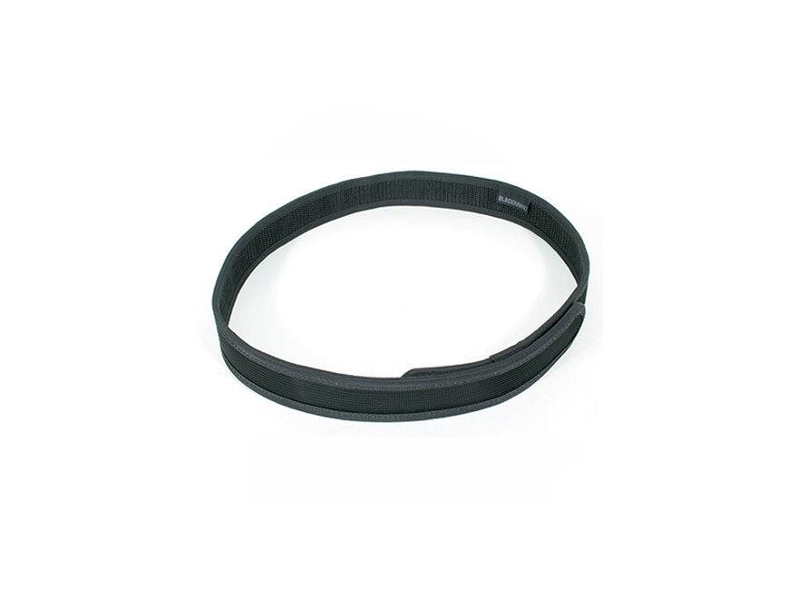 """BLACKHAWK! Inner Trouser Belt 1-1/2"""" Nylon Black"""