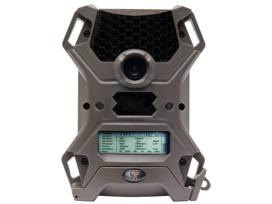Wildgame Innovations Vision 12 Lights Out Black Flash Infrared Game Camera 12 Megapixel...