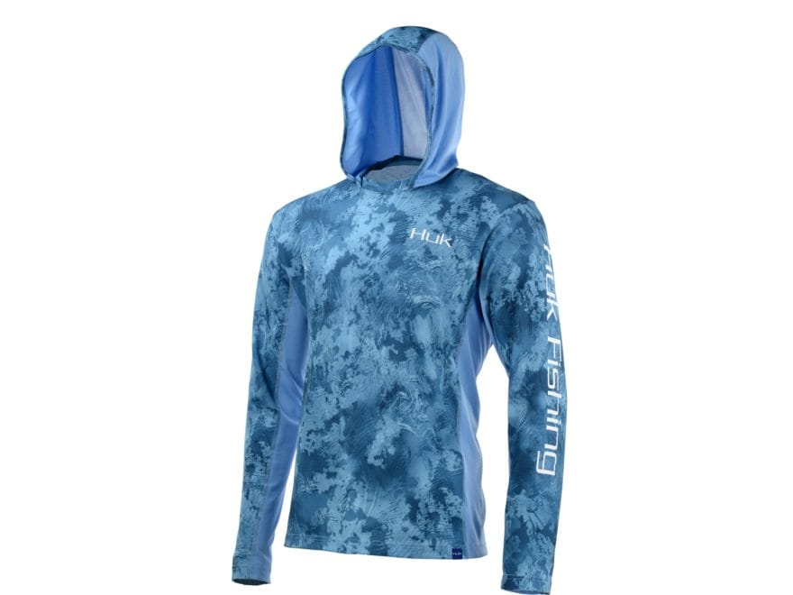Huk Men's Icon X Camo Performance Hoodie Polyester/Spandex