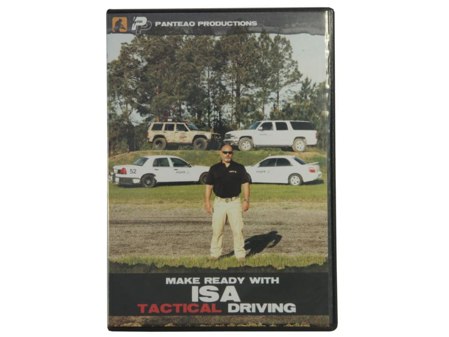 "Panteao ""Make Ready with ISA: Tactical Driving"" DVD"