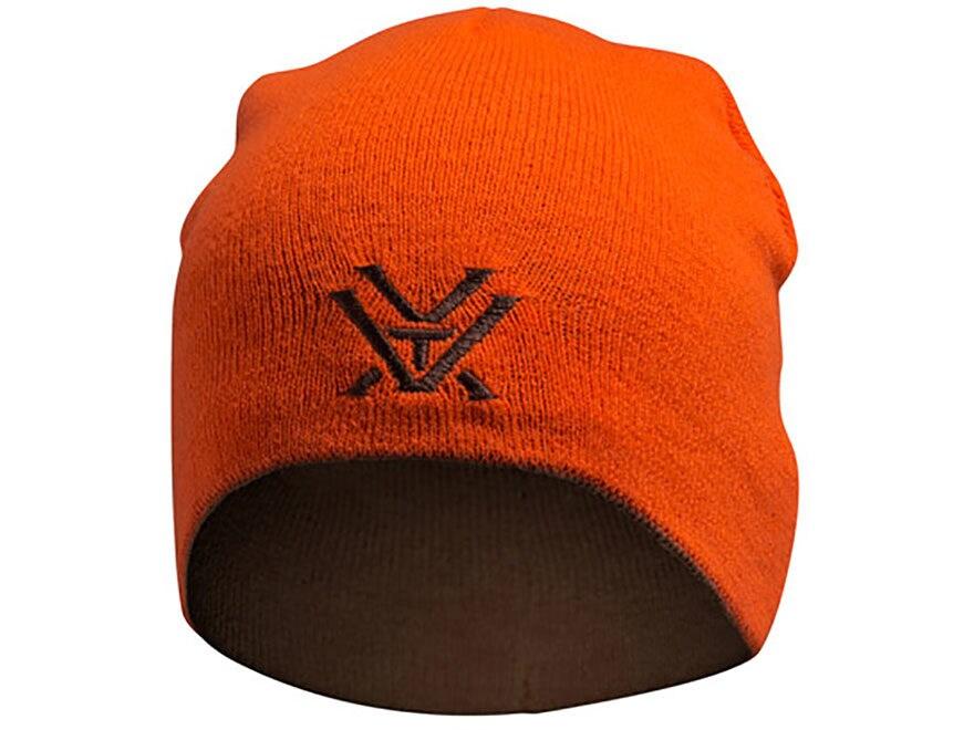 ed6fffa077f Vortex Optics Reversible Logo Beanie Blaze Orange Brown One Size Fits