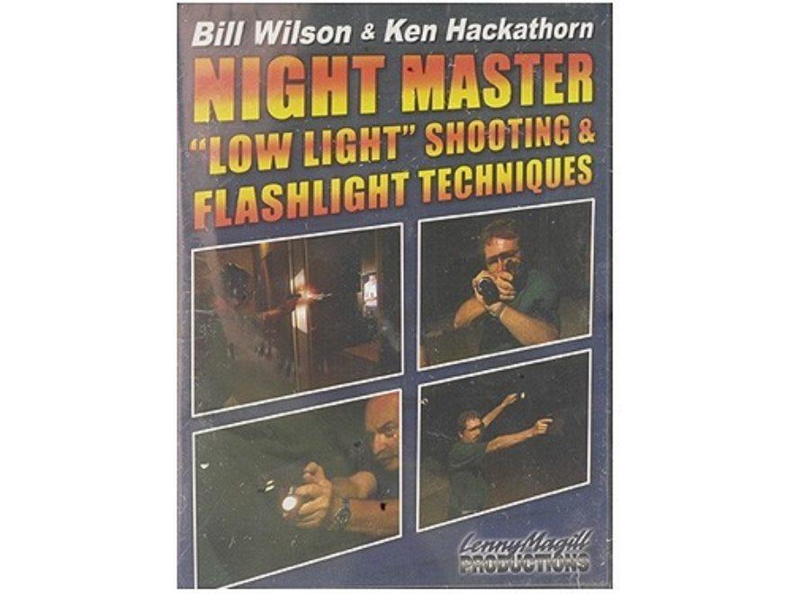 "Gun Video ""Night Master: Low Light Shooting & Flashlight Techniques with Bill Wilson & ..."