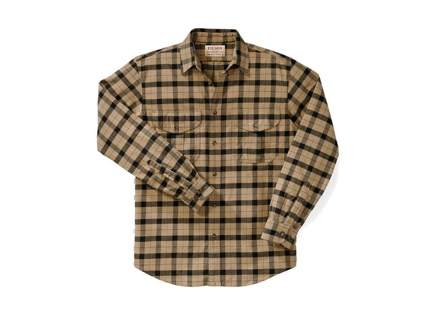 Filson Men's Alaskan Guide Flannel Shirt Long Sleeve Cotton