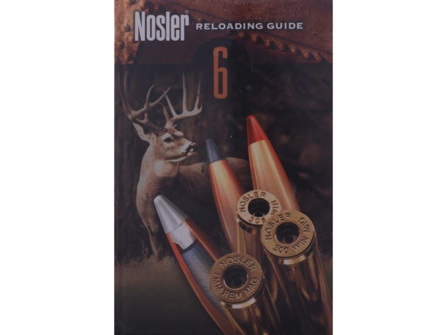nosler reloading guide 6 reloading manual mpn 50006 rh midwayusa com nosler reloading manual #5 nosler reloading manual #5