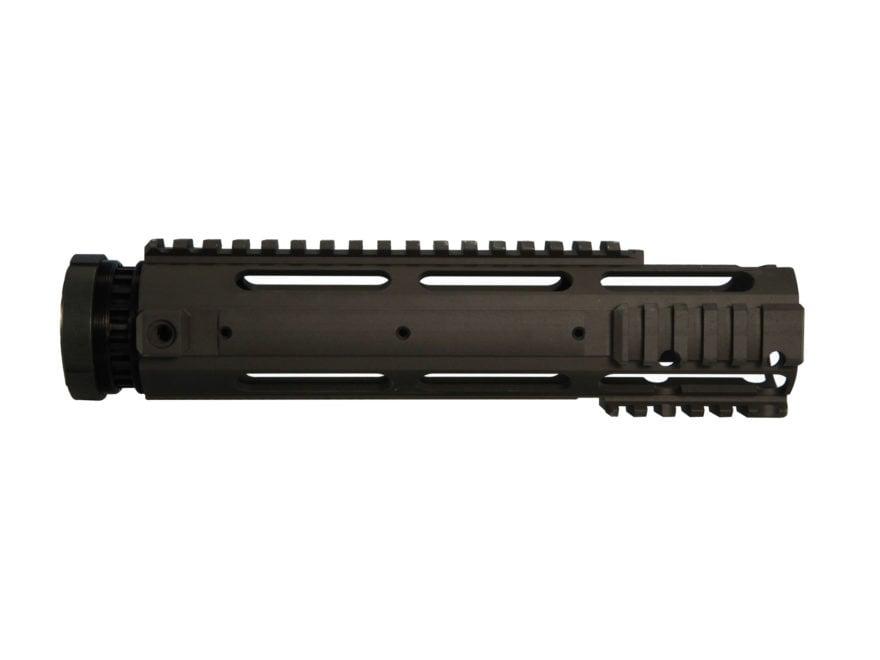 Yankee Hill Machine Free Float Tube Handguard Smooth/Quad Rail AR-15 Aluminum Matte Black