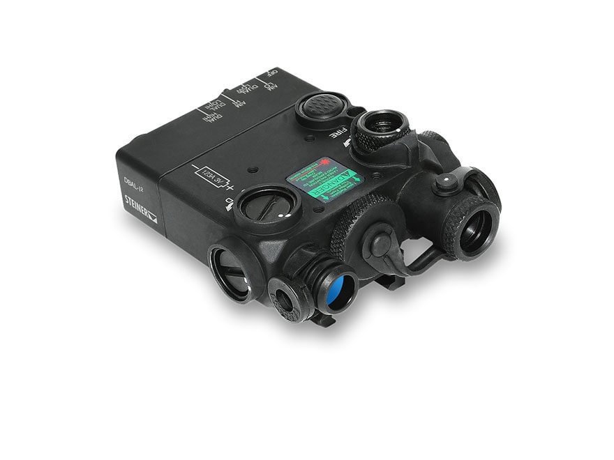 Steiner DBAL-I2 PEQ-2 IR Aiming Laser with IR LED Illuminator, Quick-Detachable Picatin...