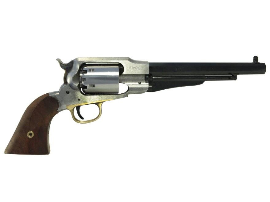 "Uberti 1858 Remington Black Powder Revolver Build-Your-Own Kit 44 Caliber 8"" Barrel Ste..."