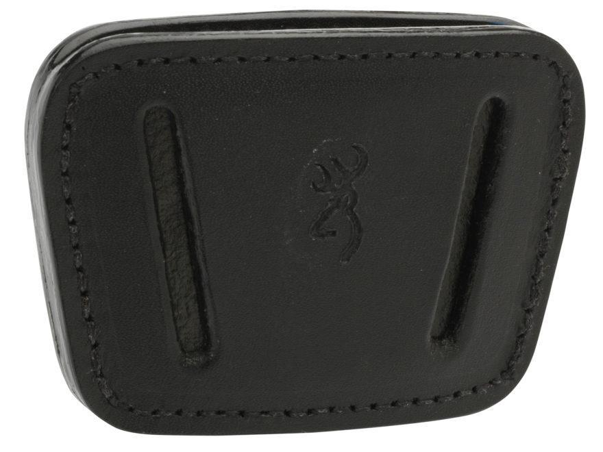 Browning 1911-22 Belt Slide Holster Leather Black