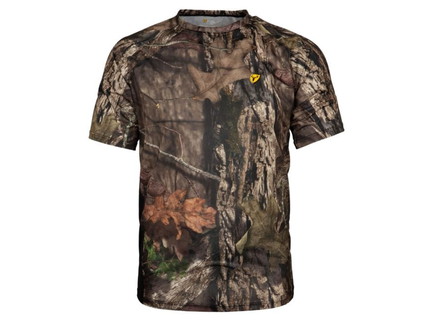 ScentBlocker Men's 8th Layer Base Layer Shirt Short Sleeve Polyester