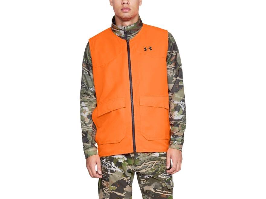 Under Armour Men's UA Hunt Blaze Safety Vest Polyester