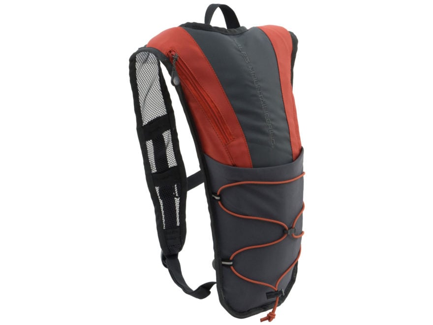 ALPS Mountaineering Hydro Trail 3 Hydration Backpack Black and Orange