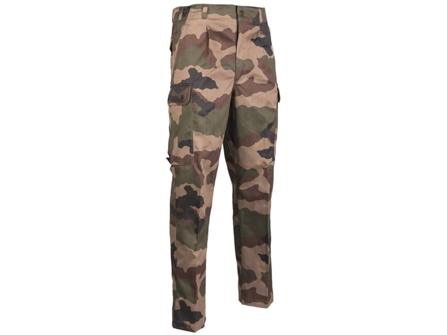 Military Surplus French F2 Pants CCE Camo