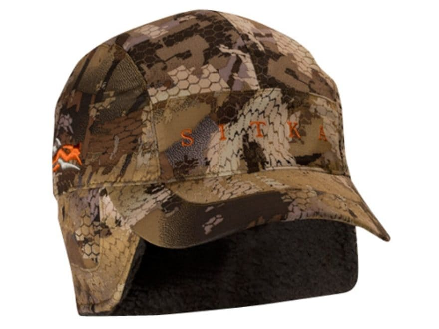 Sitka Gear Hudson Waterproof Insulated Hat Gore Optifade Waterfowl Marsh Camo
