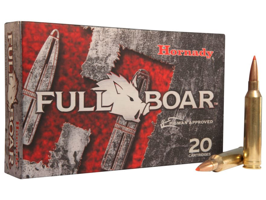Hornady Full Boar Ammunition 7mm Remington Magnum 139 Grain GMX Boat Tail Lead-Free Box...