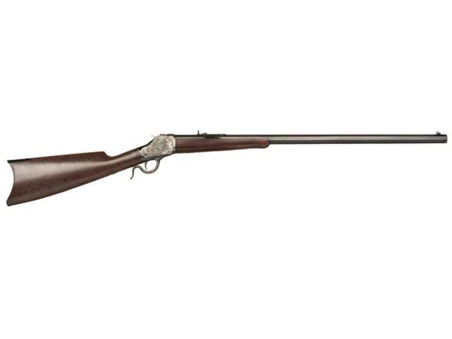 "Cimarron 1885 High Wall Rifle 30"" Octagon Barrel Color Case Hardened, Blue, Walnut"