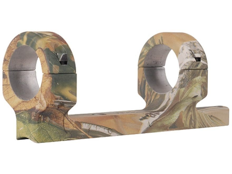 """DNZ Products Game Reaper 1-Piece Scope Base with 1"""" Integral Rings CVA Black Powder APG..."""