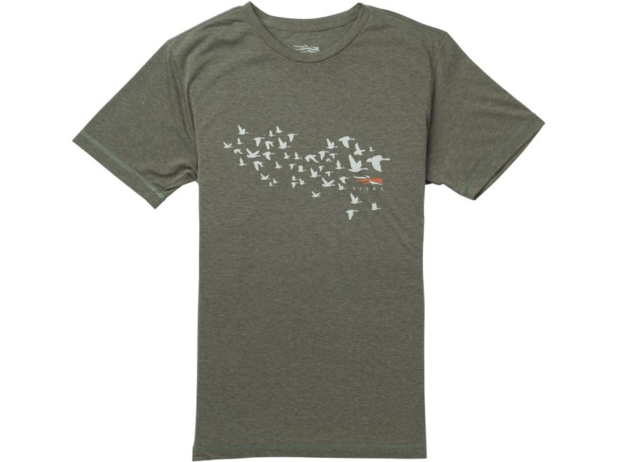 Sitka Gear Men's Migration Short Sleeve T-Shirt Polyester/Cotton