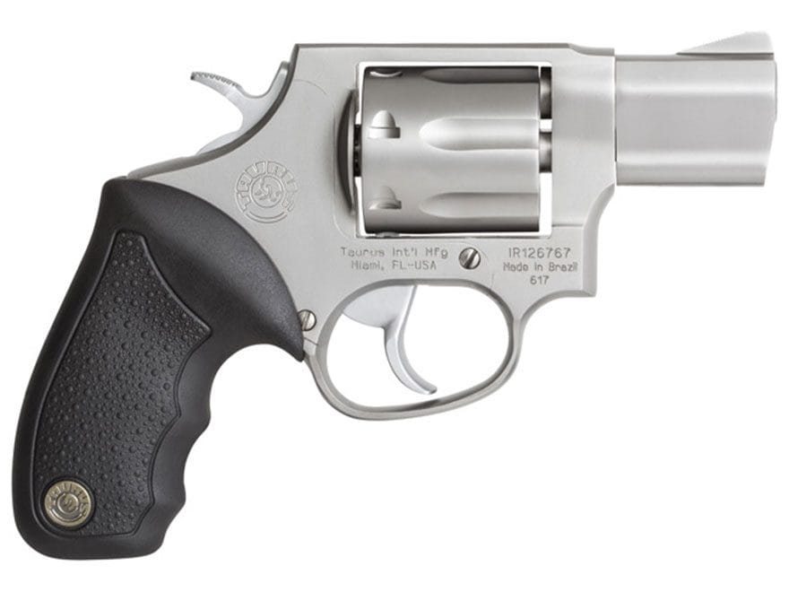 "Taurus 617 Revolver 357 Magnum 2"" Barrel 7-Round Stainless and Black Rubber"