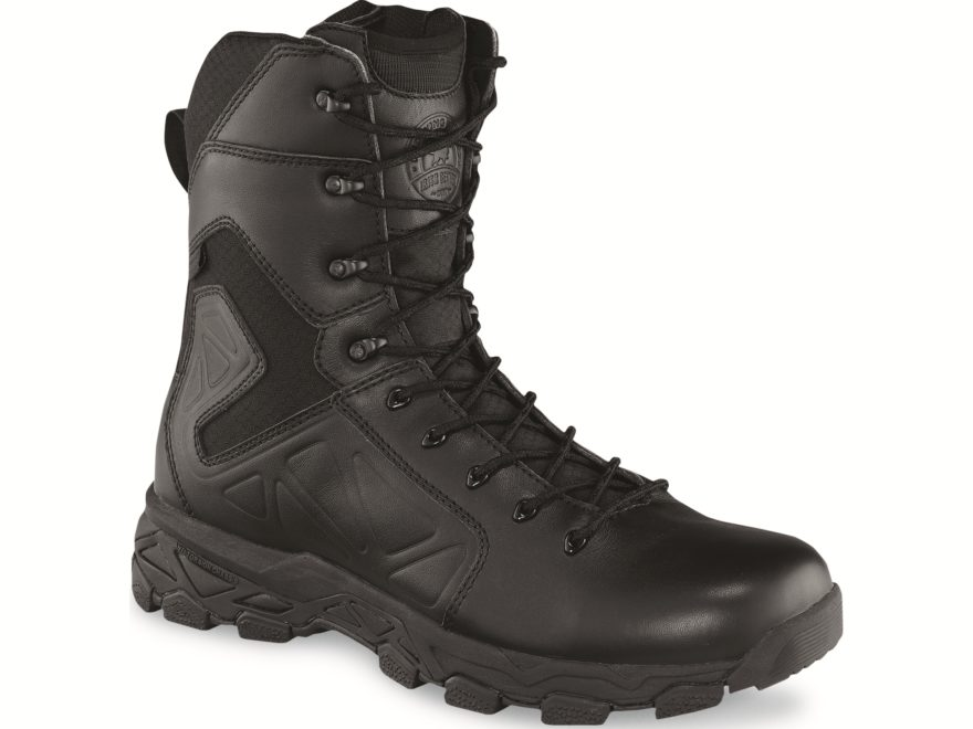 "Irish Setter Ravine Tactical 9"" Side-Zip Waterproof Tactical Boots Leather/Nylon Men's"