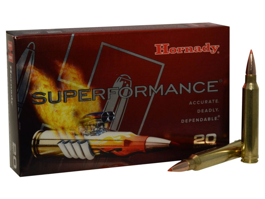 Hornady Superformance GMX Ammunition 300 Winchester Magnum 180 Grain GMX Boat Tail Lead...