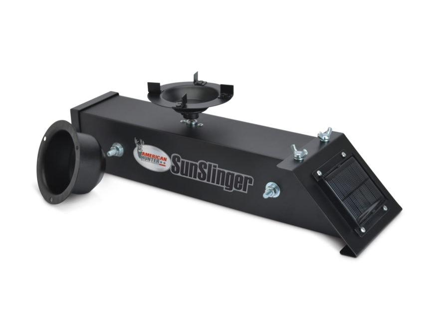 American Hunter Sun Slinger Game Feeder Kit with Solar Charger