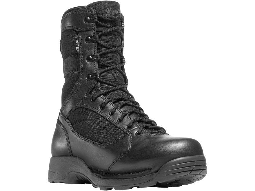 """Danner Striker Torrent 8"""" Waterproof GORE-TEX Tactical Boots Leather/Nylon Black Men's"""