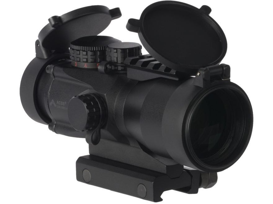 Primary Arms Gen II 5x Compact Prism Sight with Illuminated ACSS 5.56/5.45/.308 Reticle