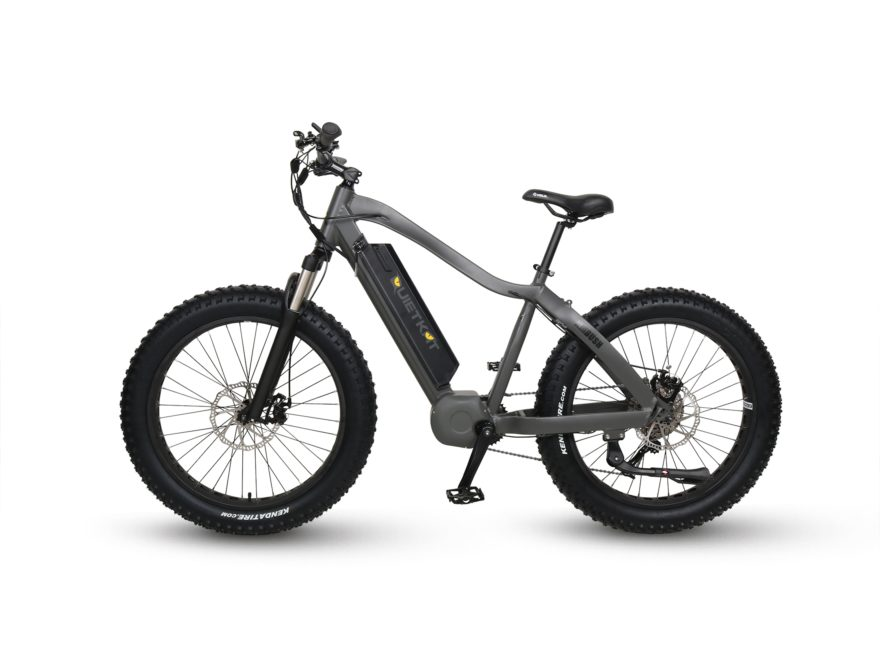 QuietKat Ambush 750W 8-Speed Motorized Bike