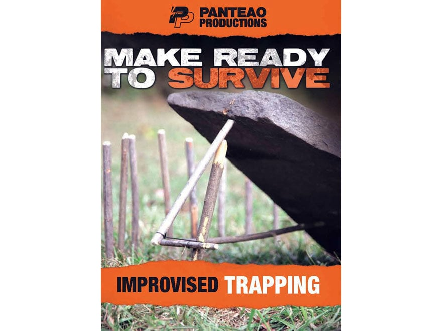 """Panteao """"Make Ready to Survive: Improvised Trapping"""" DVD"""
