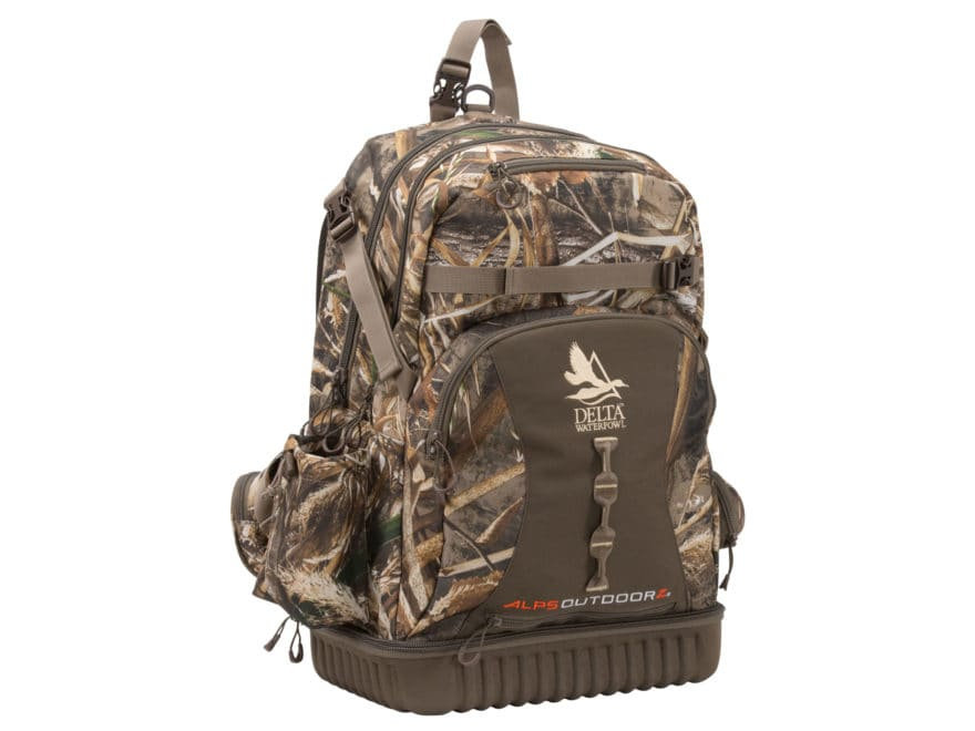 Delta Waterfowl Blind Backpack Nylon Realtree Max-5 Camo
