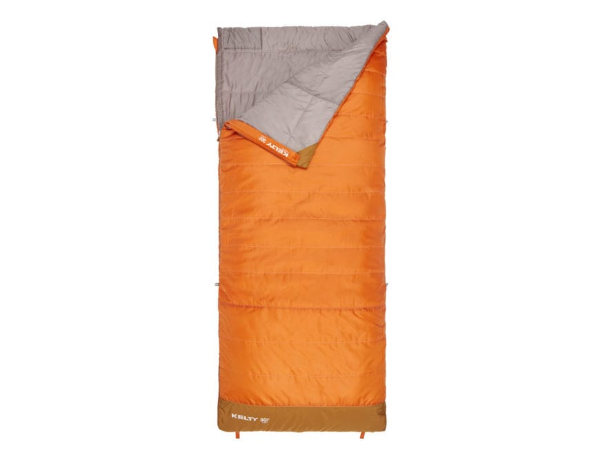 Kelty Callisto 30 degree Sleeping Bag Long Polyester Apricot Orange
