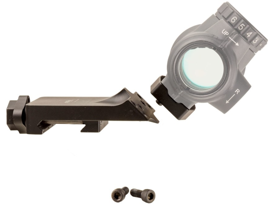Trijicon MRO Quick-Release Picatinny-Style 45 Degree Offset Mount Adapter Matte