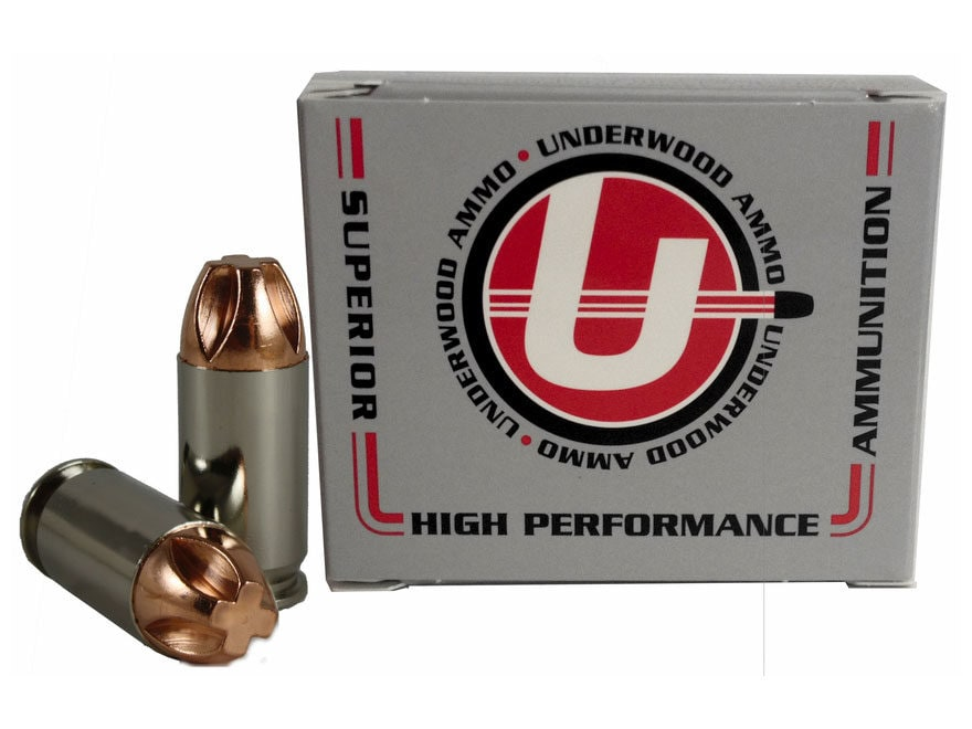 Underwood Ammunition 45 ACP +P 200 Grain Lehigh Xtreme Penetrator Lead-Free Box of 20