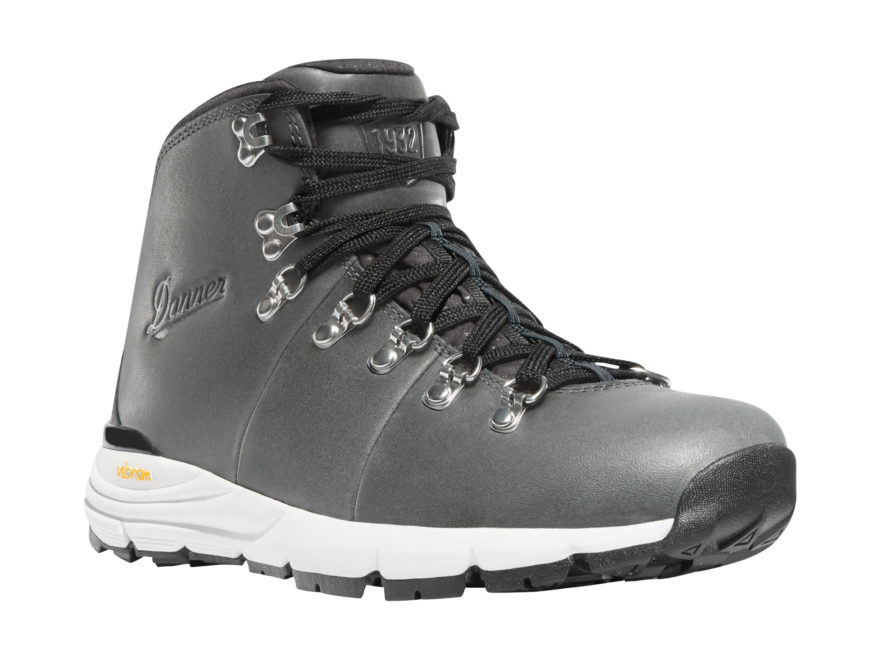 "Danner Mountain 600 4.5"" Waterproof Hiking Boots Leather Gray Women's"