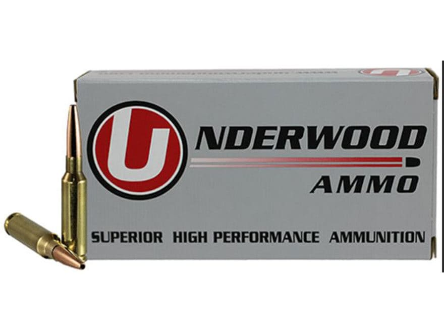 Underwood Match Grade Ammunition 6.5 Creedmoor 122 Grain Lehigh Controlled Chaos Lead-F...