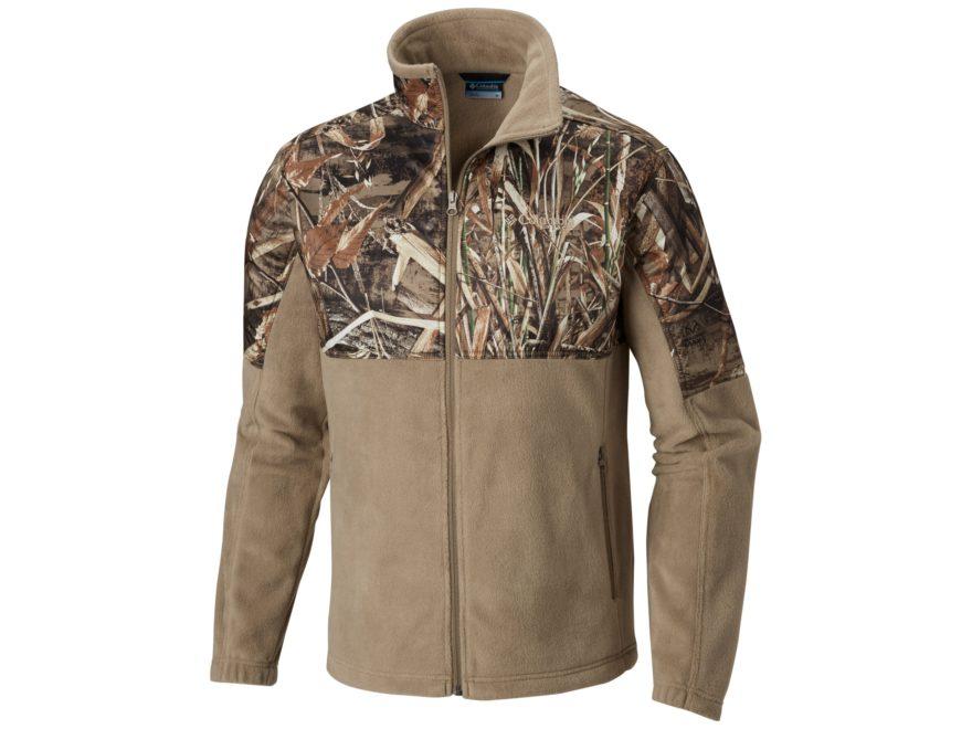 Columbia Men's PHG Fleece Overlay Full Zip Jacket Polyester