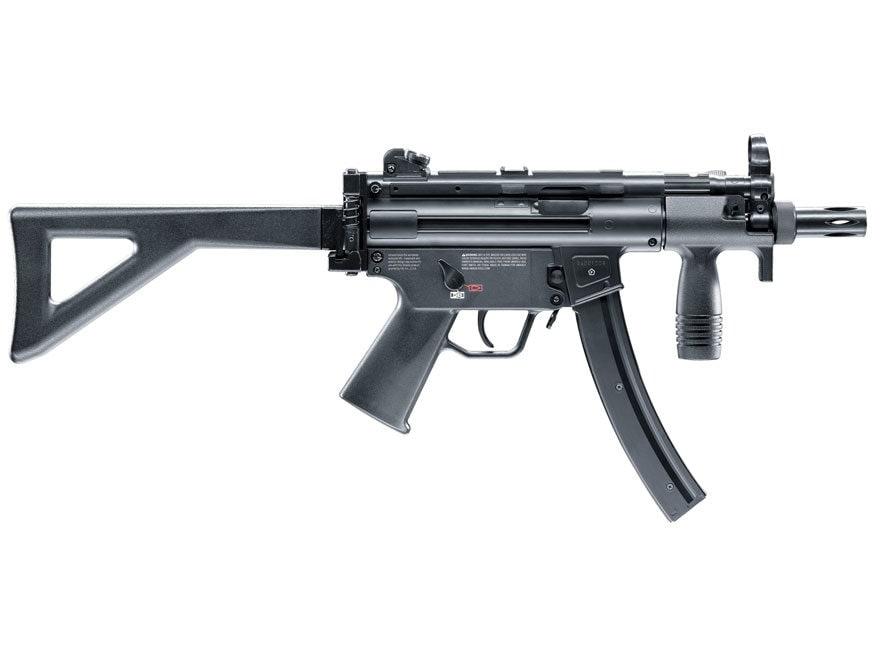 HK MP5k-PDW CO2 Air Rifle 177 Caliber BB Black