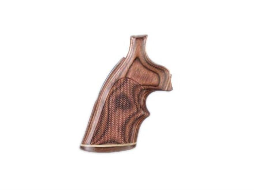 Hogue Fancy Hardwood Grips with Accent Stripe and Top Finger Groove Ruger Redhawk Check...