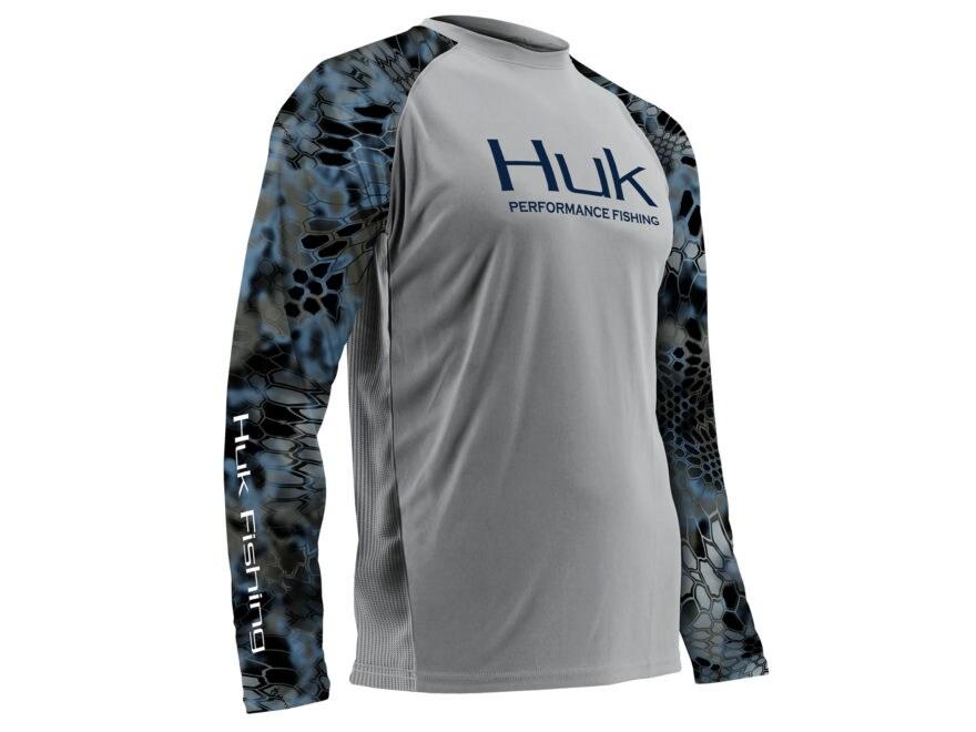 Huk Men's Performance Kryptek Vented Shirt Long Sleeve Polyester
