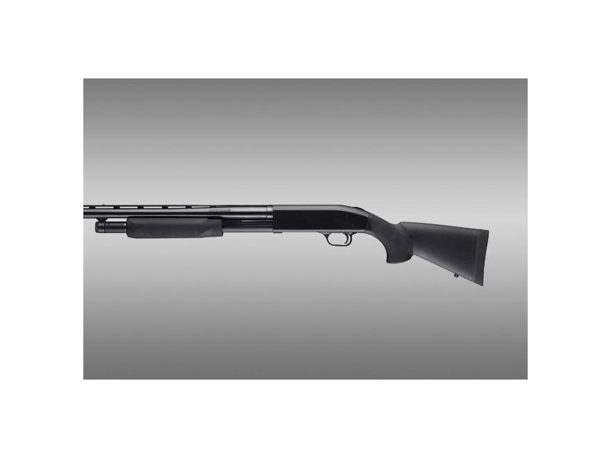 """Hogue Rubber OverMolded Stock and Forend Mossberg 500 12 Gauge 12"""" Length of Pull Synth..."""