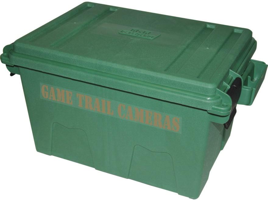 MTM Game Trail Camera Case Plastic Green