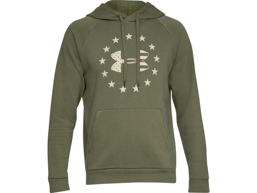 Under Armour Men's UA Freedom Rival Fleece Logo Hoodie Cotton/Polyester