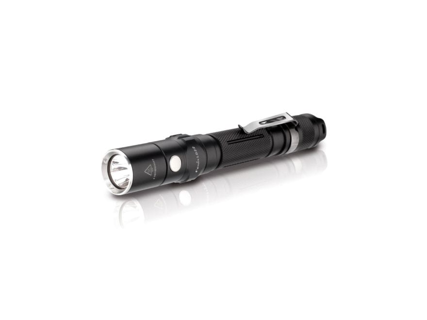 Fenix LD22 Flashlight LED with 2 AA Batteries Aluminum Black